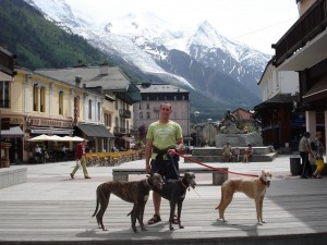 At Chamonix Mt Blanc